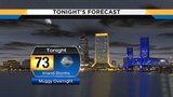 Inland storms fade tonight, heat and storms return tomorrow