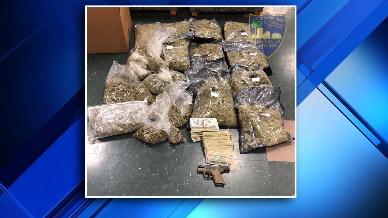 Jacksonville police smoke out marijuana stash in Riverside