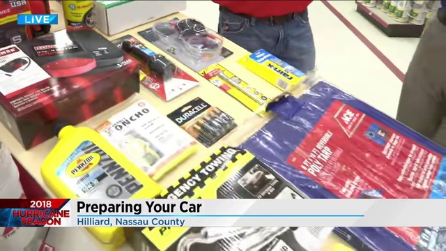 Preparing your car for hurricanes
