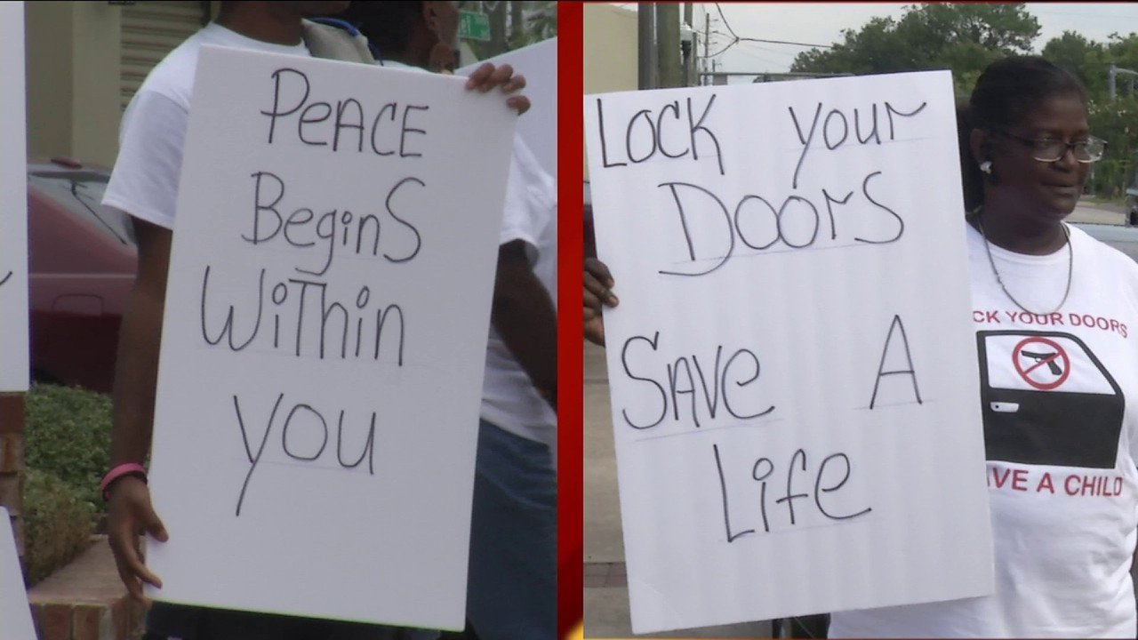 Community rally to end violence in Jacksonville