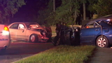 Person pulled from vehicle following crash in Mandarin, JFRD says