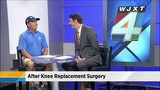 Fred Funk talks after knee replacement surgery