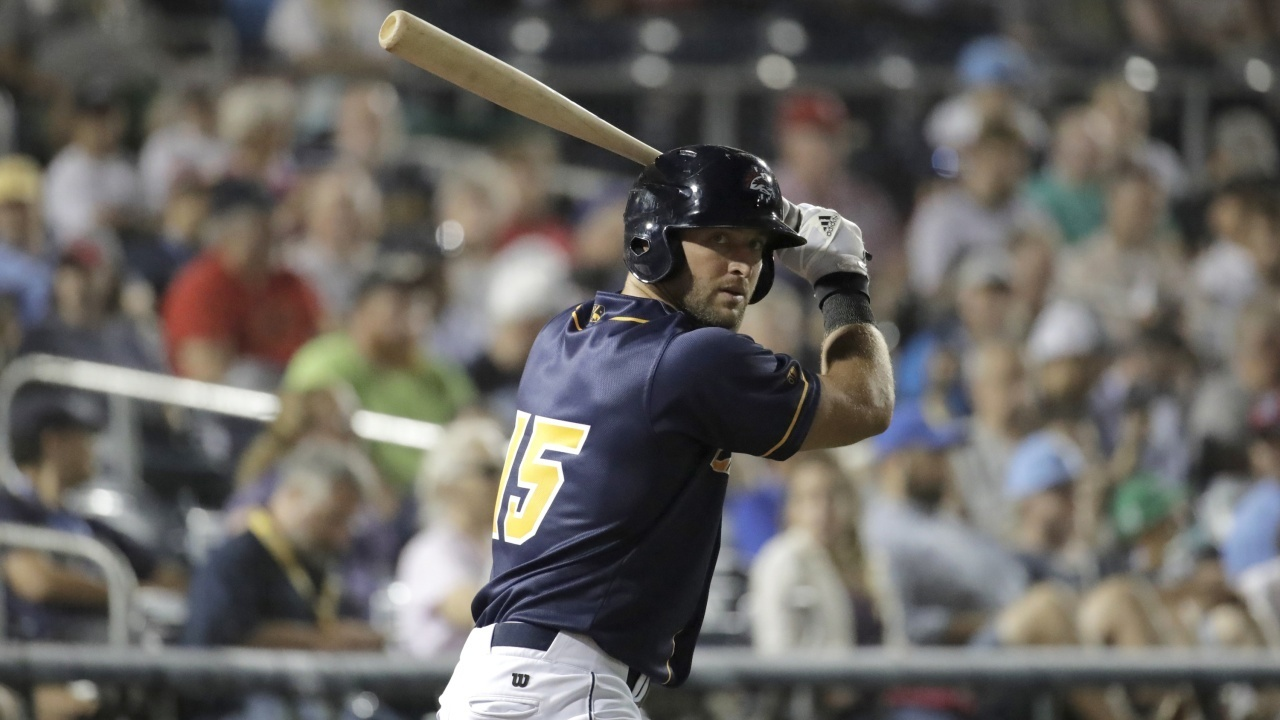 AP_18195658856737%20Cropped_1532378488512.jpg_12403729_ver1.0_1280_720 Tim Tebow's baseball season is likely done, hand surgery Tuesday