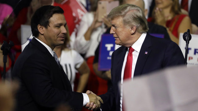 DeSantis raises money to back Trump amid impeachment inquiry