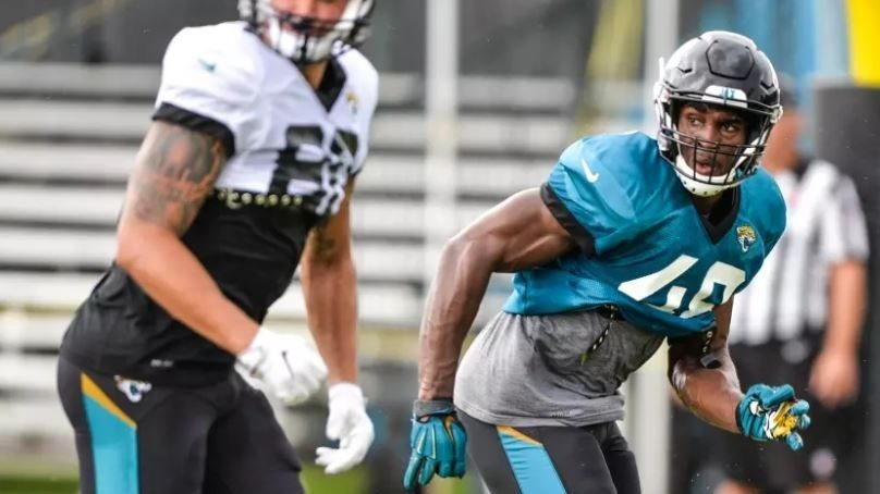 Leon%20Jacobs%20Jaguars%20Training%20Camp%20Cropped_1534281121552.jpg_12499294_ver1.0_1280_720 Jaguars may have found another late-round gem in LB Leon Jacobs