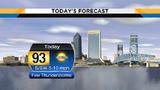 Chances for drier weather increase over weekend in Jacksonville