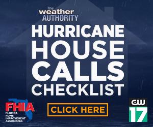Hurricane House Call checklist