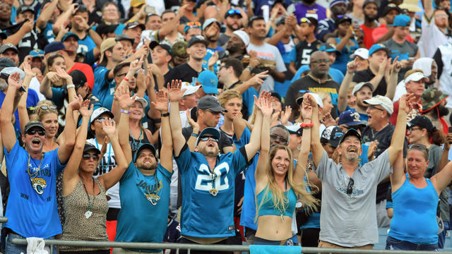 Fans allowed to bring water into Sunday's Jags - Chiefs game