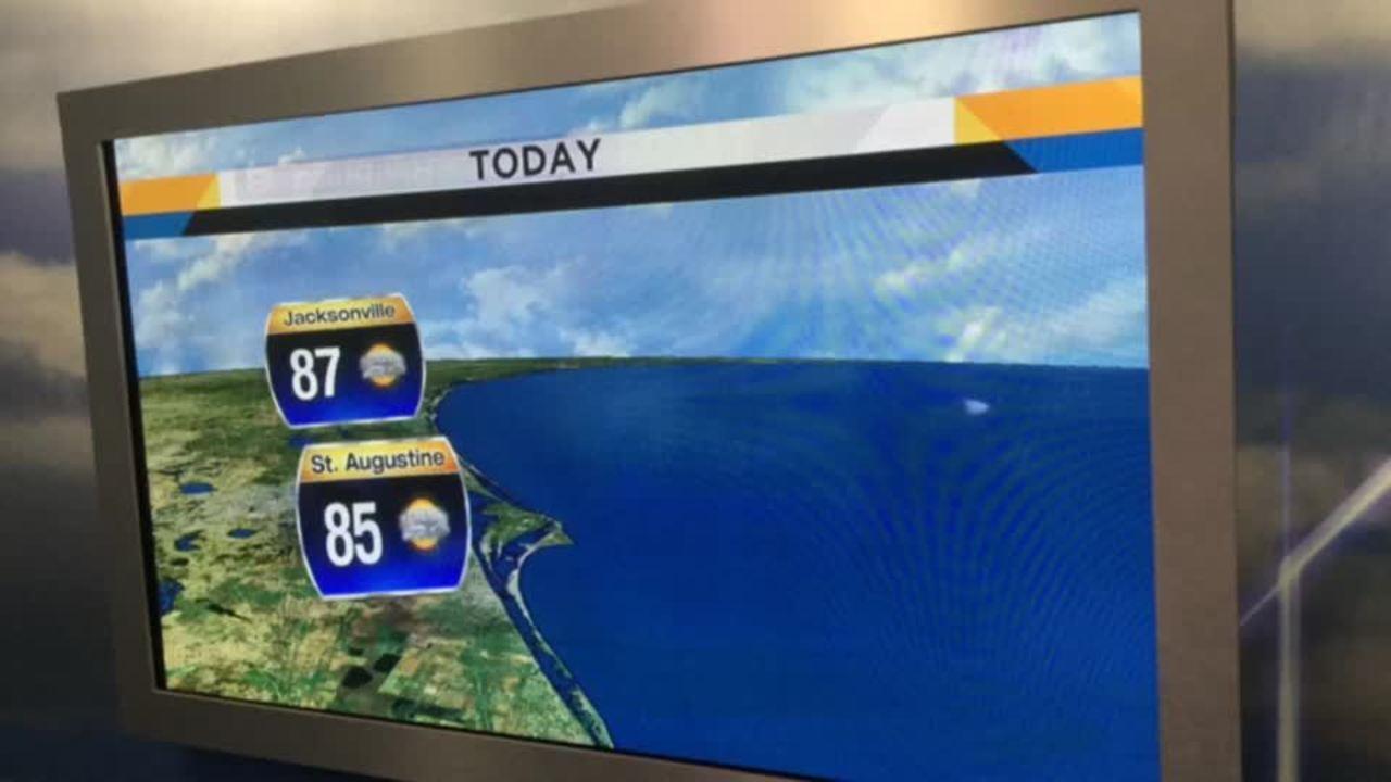 Saturday 720 Weather Forecast Isolated Coastal Showers