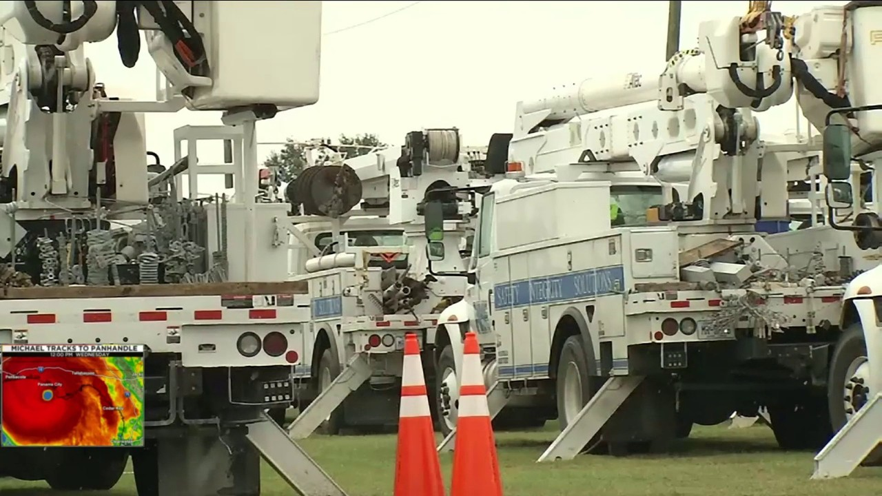 Utilities Across State Ready To Respond After Hurricane Strike