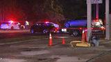 Crash sends car into gas pump on Jacksonville's Westside