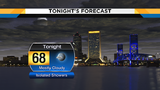 Passing showers & cloudy skies this evening, keep your umbrella handy