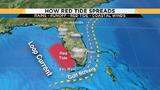 Red Tide creeping up Florida's east coast