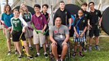 Paralympian gold medalist helps students see their potential through archery