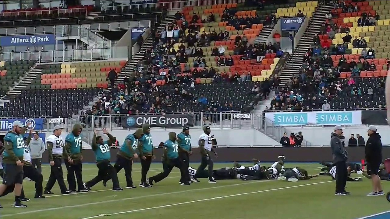 Jaguars arrive in London to increasingly knowledgeable fans