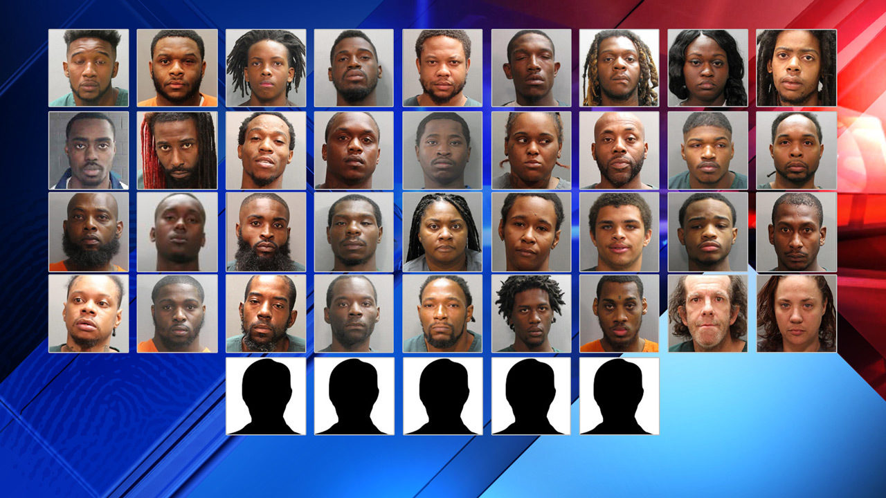 Jacksonville is safer' after 41 accused gang members busted