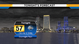Overnight rain moves in, chilly temperatures follow