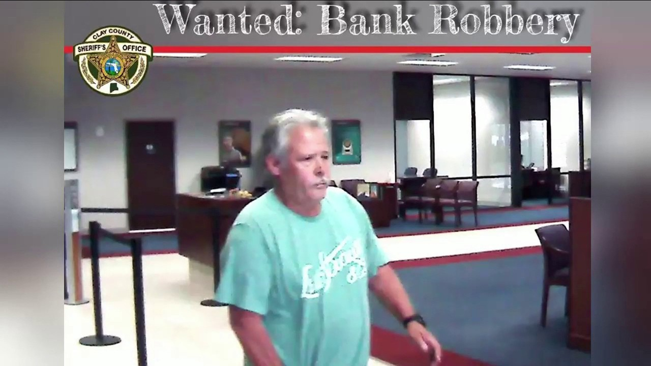 Authorities: Orange Park bank hit by FBI 'Most Wanted' serial