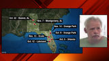 FBI 'Most Wanted' serial bank robbery suspect arrested in Lakeland