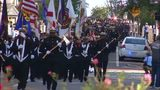 'Sea of Blue' march honors fallen Jacksonville firefighters