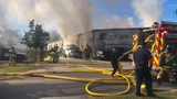Smoke from Southside auto shop fire seen for miles