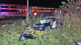 Two men injured after car collides with train in Callahan