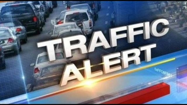 SKY 4 LIVE: Crash involving man on riding mower blocks lanes of I-95