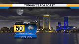 Clearing skies and cooler temperatures tonight