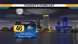 Clear & cool evening, expect increasing clouds for Thanksgiving