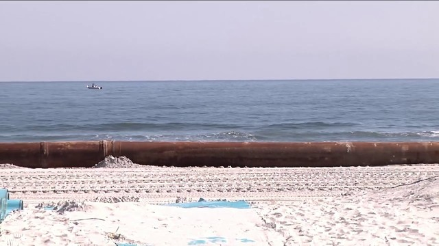 Video Thumbnail For Swimmers Surfers Urged To Be Careful Around Beach Renourishment Projects