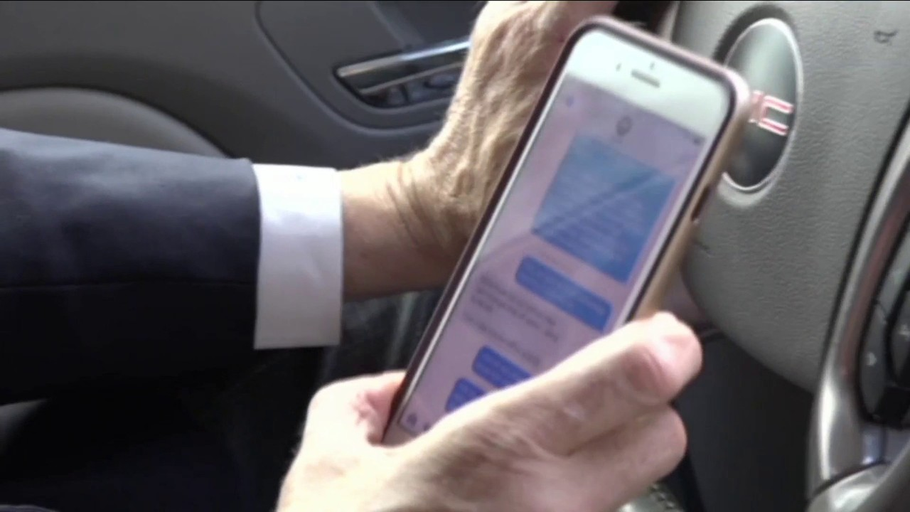 Jacksonville man hurt in crash welcomes texting while driving ban