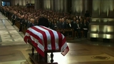 UNCUT: Former Sen. Alan Simpson hailed his old friend as man of humility
