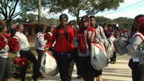 Raines gives football team spirited send-off to championship game