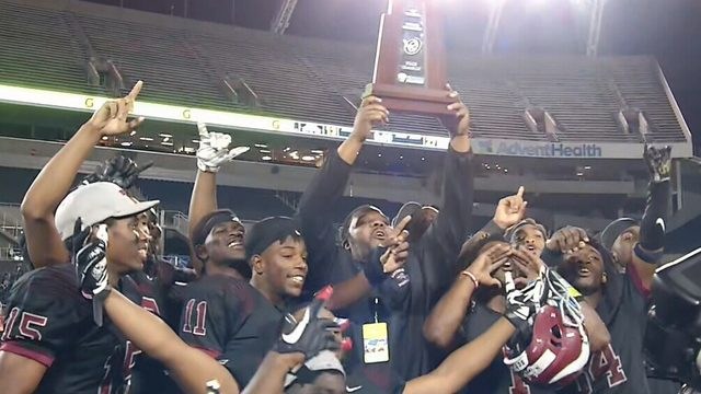 Raines repeats as 4A football champions with 27-13 win over Cocoa