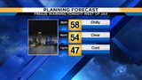 Tuesday turns sunny before temps drop to near freezing