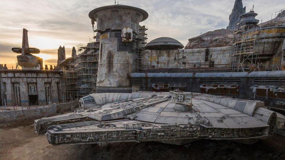 Disney Reveals Glimpse Of Millennium Falcon Coming To Star