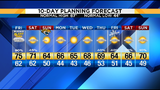 Weather Authority Alert Day today but here's more on the weekend forecast