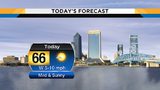 Dry, sunny skies lead to mild start to new week