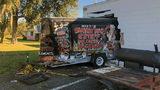 Trailer crashes into food mart on Jacksonville's Westside