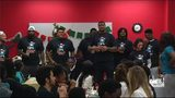 Jaguars' Calais Campbell takes 40 kids on shopping spree