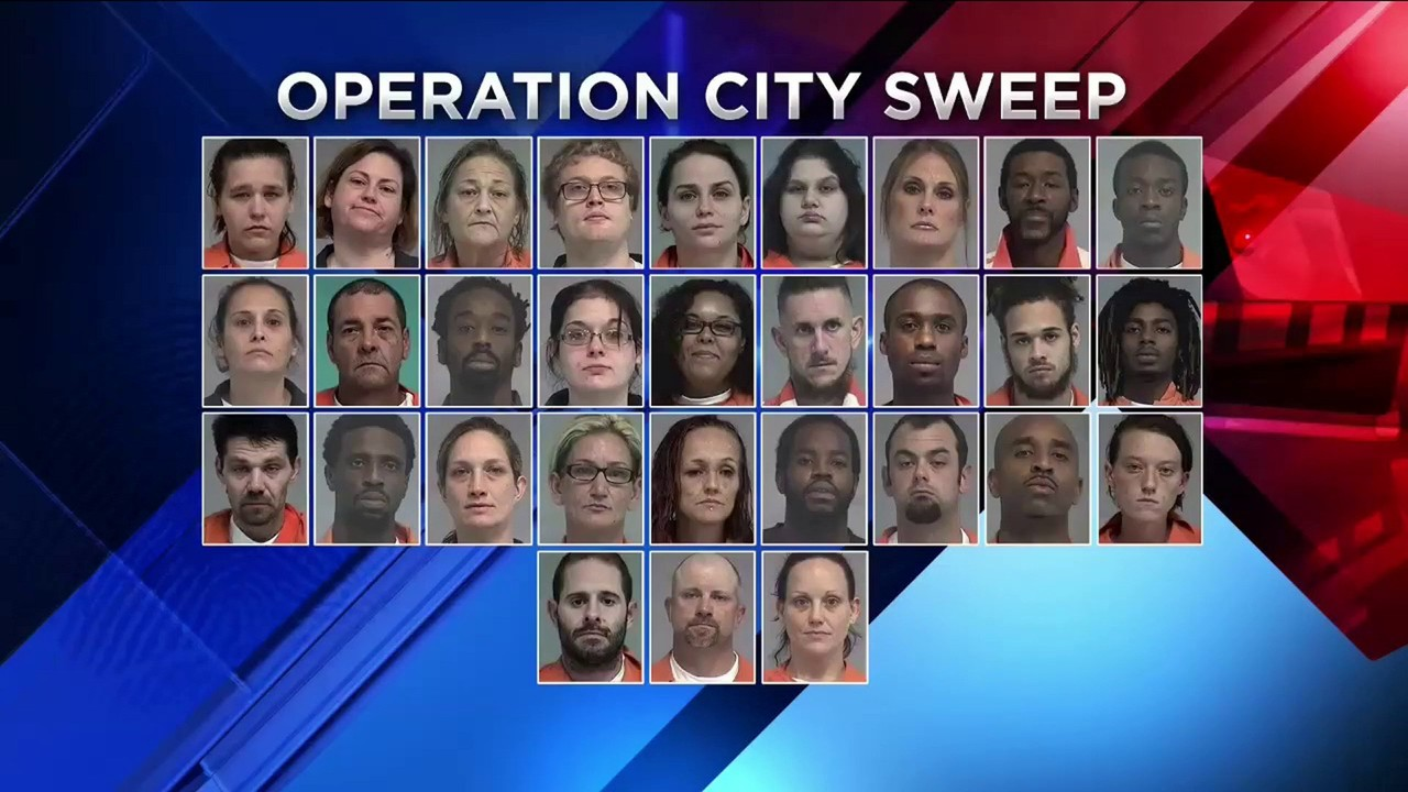 Sheriff: Detectives clean up with 30 arrests in Operation