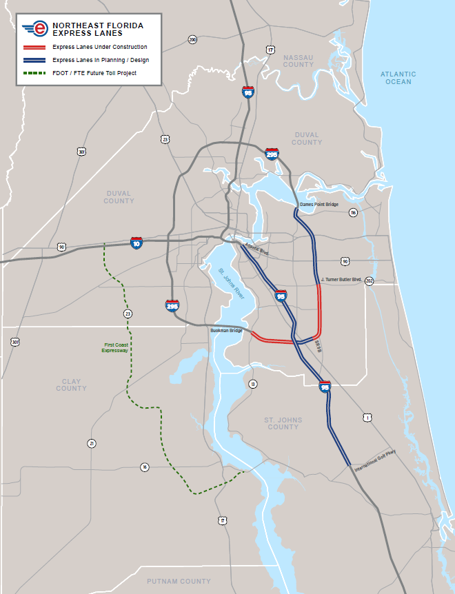 What drivers need to know before I-295 express lanes open in