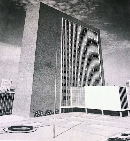 1960 photo of Jacksonville City Hall