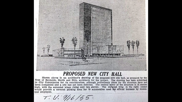 1960 images of 'New' Jacksonville City Hall