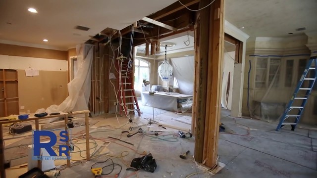 Opening up the kitchen