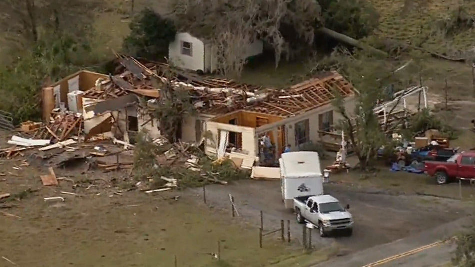 Possible Tornado Tore Roof Off Central Florida Parsonage