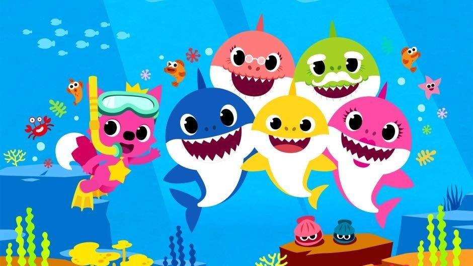 A 39 Baby Shark 39 TV show is ing