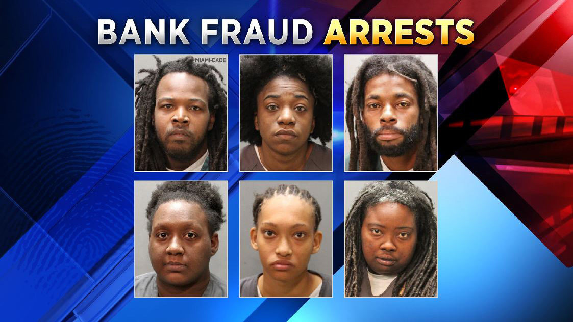 Police 6 People Arrested In Bust Of Bank Card Fraud Ring