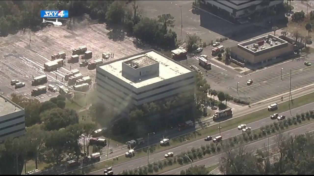 3-alarm Fire Burns Vacant Office Building On Arlington