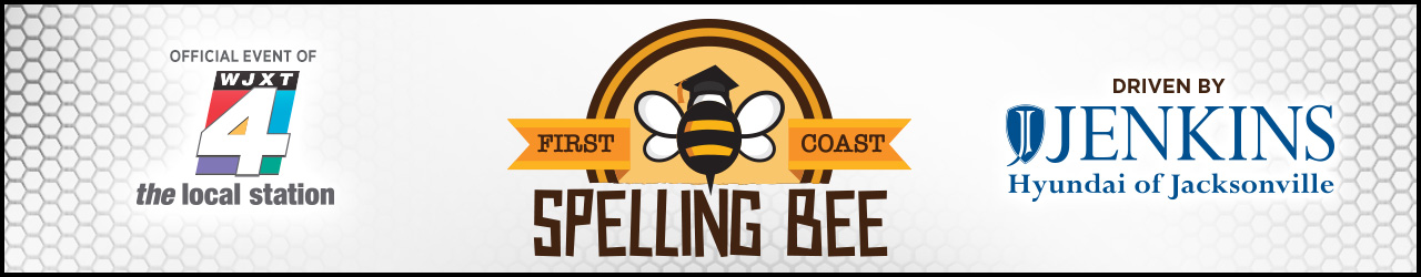 First Coast Spelling Bee banner